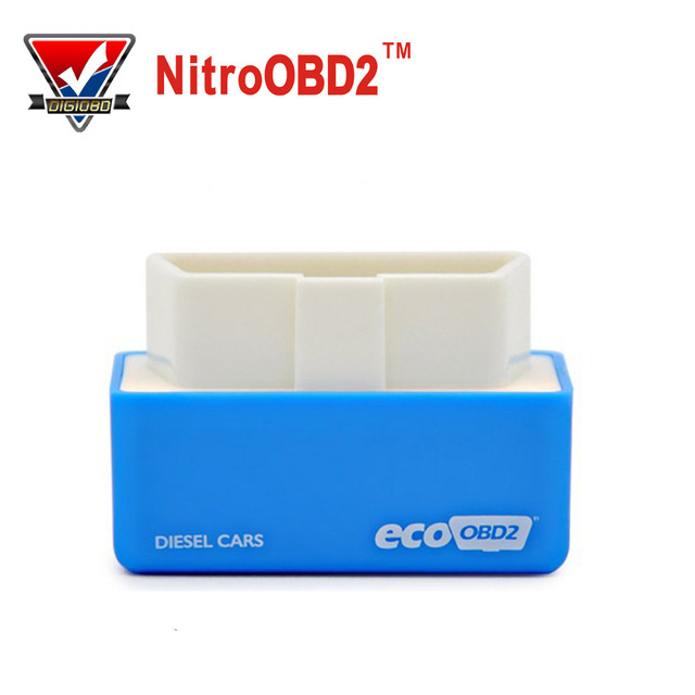 2016 EcoOBD2 Diesel Cars Chip Tuning Box Plug and Drive OBD2 Economy Chip Tuning Box Lower Fuel and Lower Emission 15% fuel save