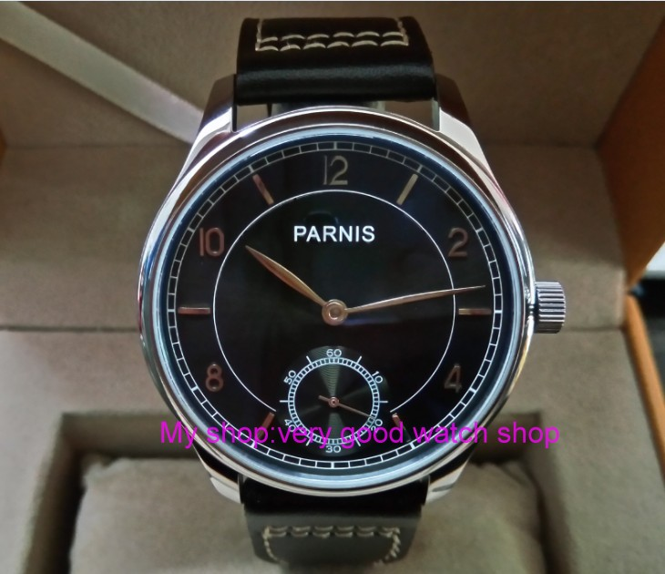 44mm PARNIS Asian ST3621/6498 Mechanical Hand Wind movement Mechanical watches Gray dial men's watches wholesale dfgd198A 44 mm parnis white dial asian 6498 3621 mechanical hand wind men watches mechanical watches wholesale 389