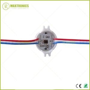 Image 5 - 20 Pz/lotto DC12V WS2811 30 Millimetri Diffuso Led Modulo Del Pixel di Colore Completo di 3 Led 5050 Rgb Ha Condotto La Stringa di Lampada D30 moduli IP68 0.72 W/pz