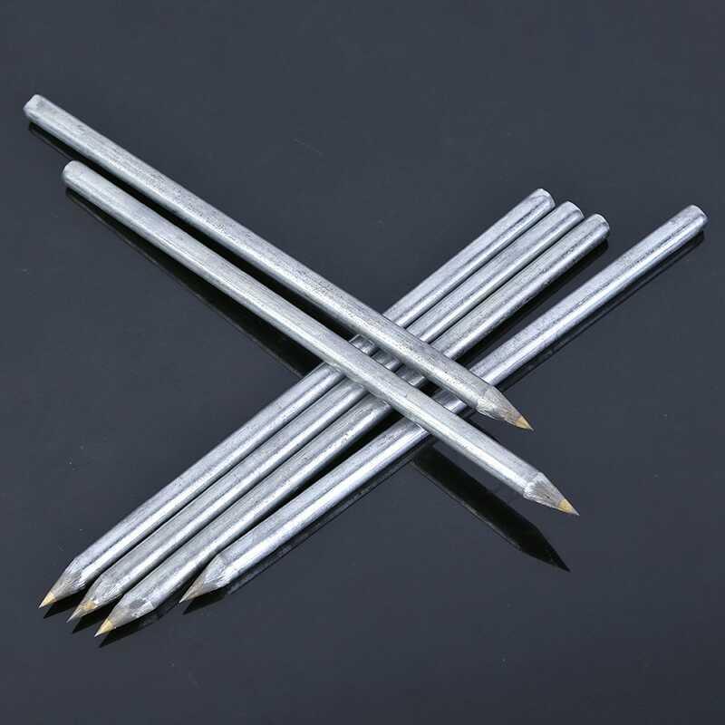 2pcs! Diamond Glass Cutter tile cutter Cutting machine Carbide scriber Hard Metal Lettering Pen construction tools
