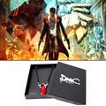 DMC Devil May Cry Dante Virgilio Crystal Plata de Ley 925 Colgante de Collar de Capcom Oficial Versión Limited Envío Libre