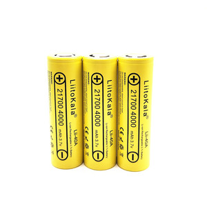 Image 2 - LiitoKala Lii 40A Original 21700 4000mAh 40A Rechargeable  Battery fits CAPO