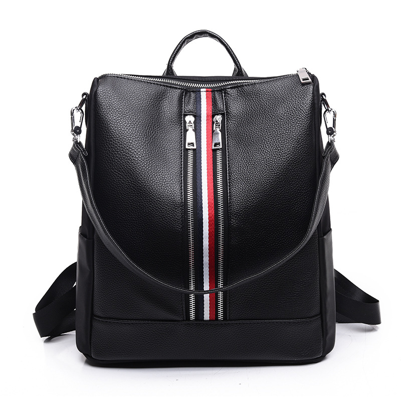 Fashion Designer Backpacks For Women Preppy Bookbags Mochilas Mujer Leather Backpack Girls Travel Backpack PT1122