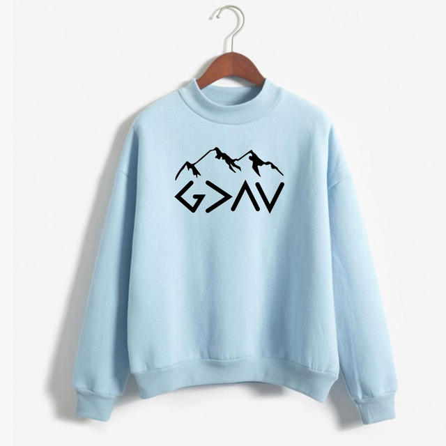 GOD IS GREATER SWEATER (9 VARIAN)
