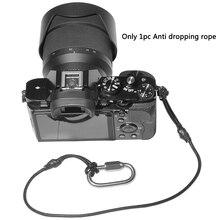 Аксессуары для камеры ремень троса с крюком против падения Портативный ремень безопасности Универсальный Черный Защитный быстросъемный анти-потеря