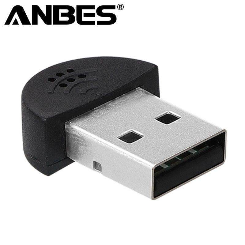 Aufstrebend Anbes Super Mini Neue Hochwertige Sound Usb 2.0 Mikrofon Audio Adapter Driver Free Msn Für Pc Notebook