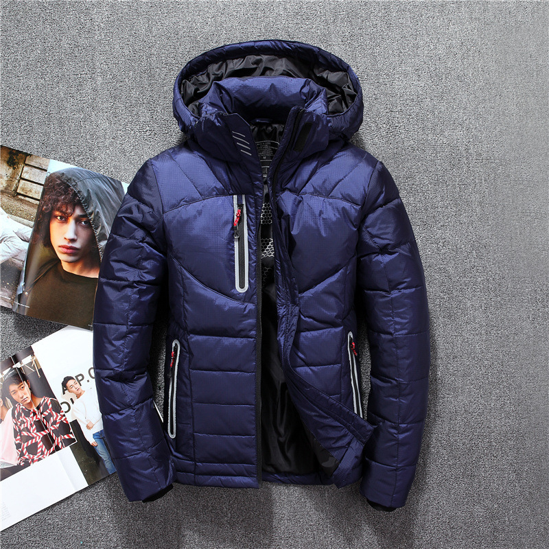 Winter White Duck   Down   Jacket Man and Women Lovers Extra Thick Hooded Waterproof Warm Outerwear Winter Jacket Outdoor   Down     Coat