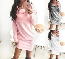 Winter off shoulder knitted bodycon dress Women long sleeve autumn sexy dress 2018 party short white dresses vestidos awaytr winter autumn dress women 2017 long sleeve sexy party knitted dress casual bodycon dress vestidos short sweater dresses