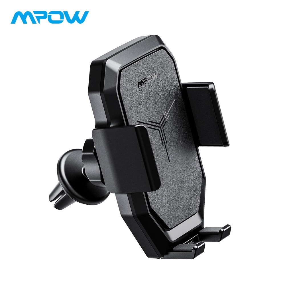 Mpow Car Phone Holder Mount Car Qi Wireless Charger