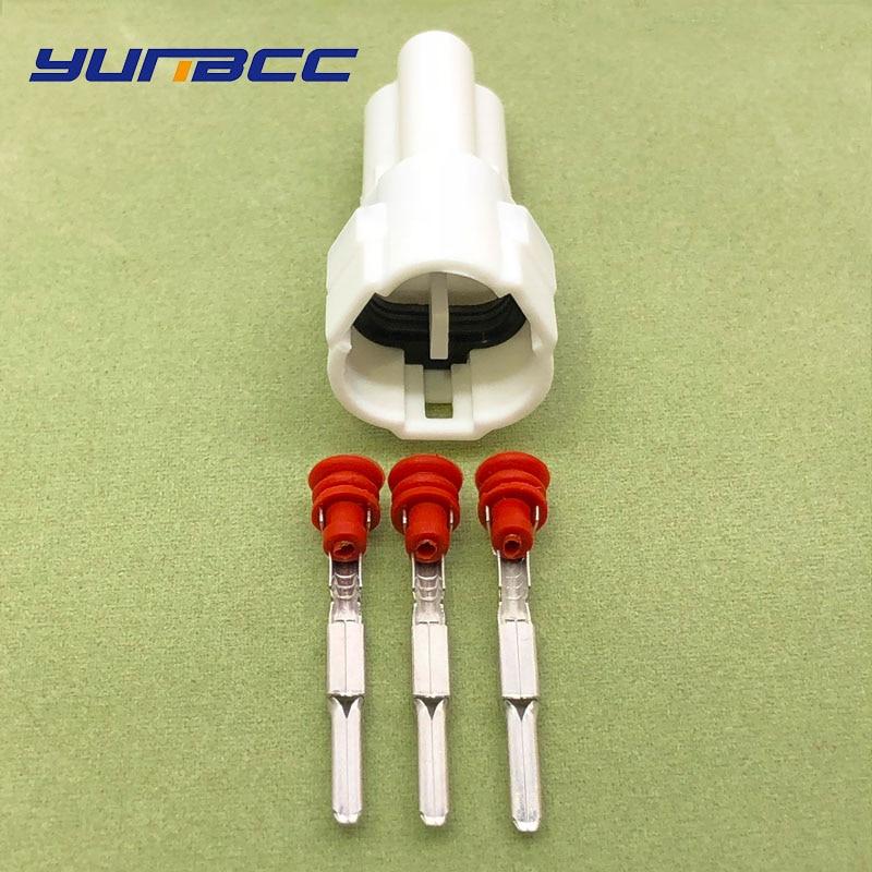5 компл. Sumitomo 3 pin/way MT090 герметичный мотоцикл TPS водонепроницаемый разъем 6187-3231 6180-3241 - Цвет: 1 set of male