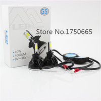 H3 High Power LED 48 W 4800LM/PAAR Auto Auto Xenon White Mist Koplamp Hoofd Licht Lamp voor DC 12 V