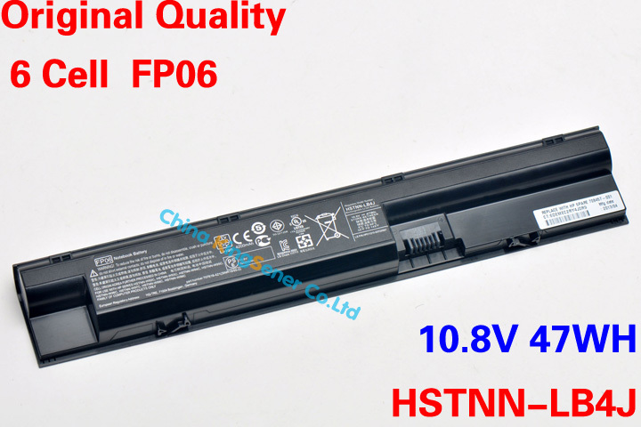 Original New Korea Cell FP06 Laptop Battery for HP ProBook 450 440 445 455 470 HSTNN-LB4K FP06 HSTNN-W98C HSTNN-W92C 10.8V 47WH 62wh korea cell original new laptop