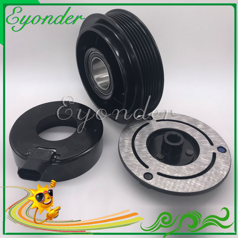 AC A C Air Conditioning Compressor Electromagnetic Magnetic Clutch Pulley for VAUXHALL OPEL ANTARA 3 2