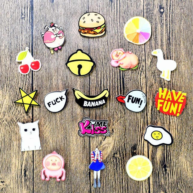 Kawaii Clothes Brooch Pin