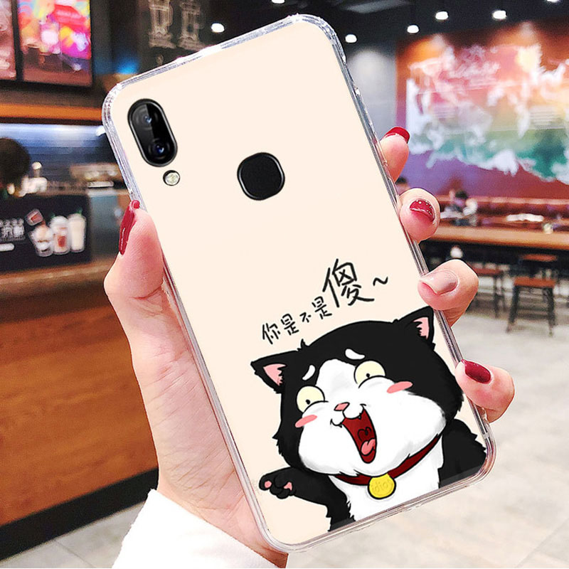 LEN1565E_1_JONSNOW Soft Case For Lenovo K5 Pro S5 Pro Painted Pudding Anti Skid Phone Cover for Lenovo A5 Capa Fundas