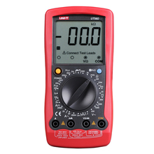 UNI-T UT58D Цифровой Мультиметр Вольтметр Амперметр Ом Емкость Индуктивность Цифровой Универсальный Измеритель ЖК Count 1999 AVO Метр