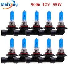 цены на 10pcs 9006 HB4 55W Halogen Bulbs super white Headlights fog lamps day light running parking 12V Head Car Light Source  в интернет-магазинах
