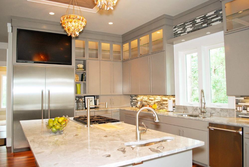 tradicional cocina gabinetes de madera slida de color blanco gabinetes de madera hechos con