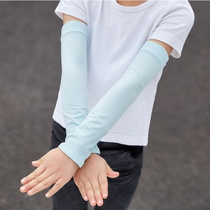 1 Pair Thin Children's Arm Sleeve Ice Si