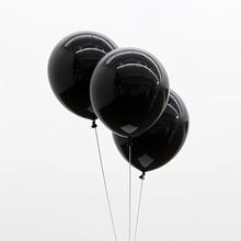 Black Balloons 20pc 10 Inch Thick 2 2 g font b Birthday b font Ballons font