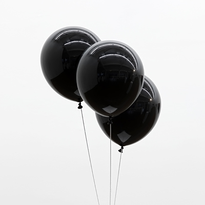 Black Balloons 20pc 10 Inch Thick 2.3 g Birthday Ballons Decorations Wedding Bal