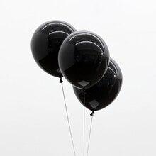 Черный шары 20 шт. 10 дюймов толщиной 2.2 г на день рождения баллонов украшения свадебные баллоны розовая белая Globos ну вечеринку оптовая продажа