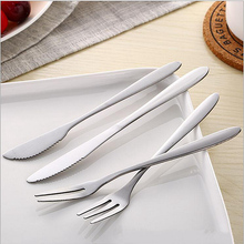 3pcs/set Stainless Steel Mini Party Forks and knife Fruit cake Forks with Prong Bistro Cocktail Tasting Appetizer Forks Set