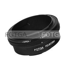 Anillo adaptador Fotga para lente de montaje FD a cámara Canon EOS M sin espejo para EF/lentes de EFS