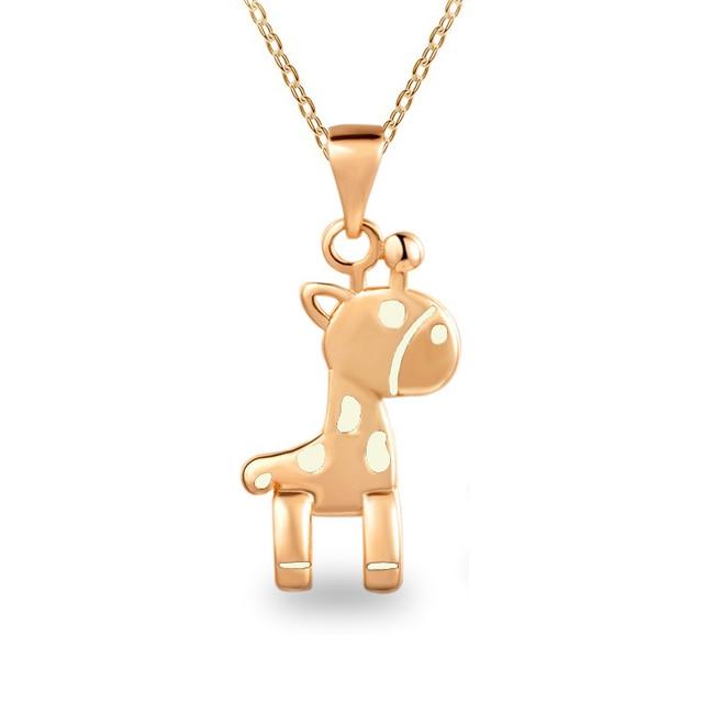 G197 giraffe pendant necklace for women for gift in chain necklaces g197 giraffe pendant necklace for women for gift aloadofball Choice Image