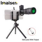 Universal cell phone smartphone 18x optical zoom telescope telephoto camera lens kit for mobile cell phone