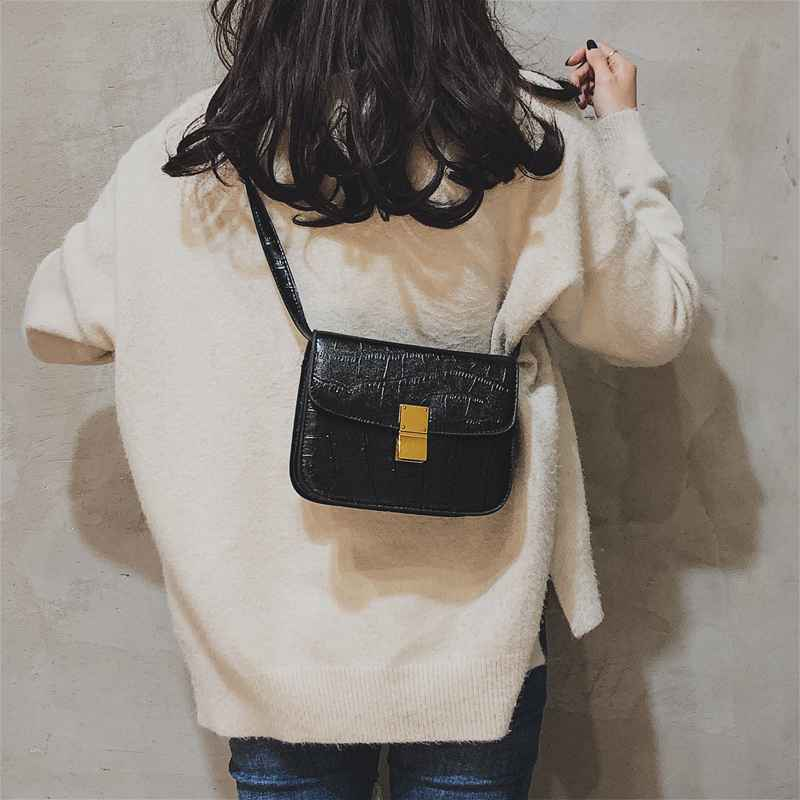 meninas moda designer ombro mensageiro sacos