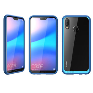 Image 3 - SUPCASE For Huawei P20 Lite Case Cover UB Style Series Anti knock Premium Hybrid Protective TPU Bumper+PC Clear Back Cover Case