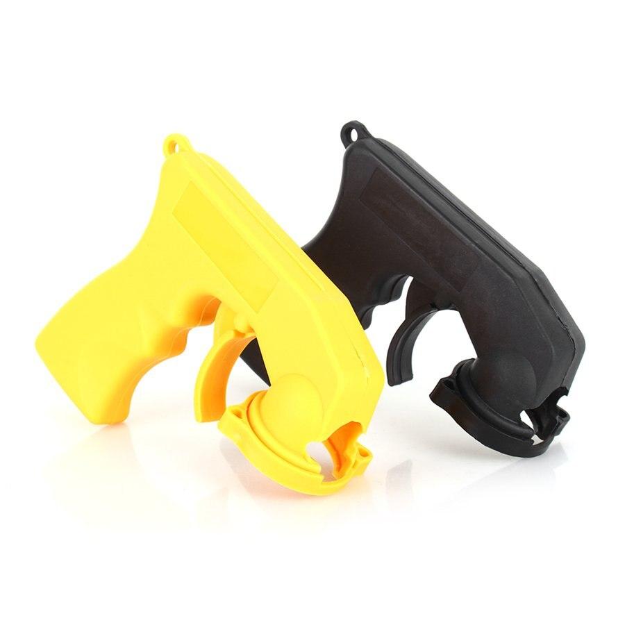 Spray Adaptor Aerosol Spray Gun Handle With Full Grip Trigger Locking Collar Car Maintenance