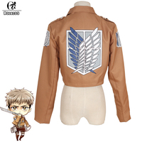 Anime Promotion Free Shipping Attack On Titan Jacket Shingeki No Kyojin Scouting Legion Cosplay Costume Embroidery