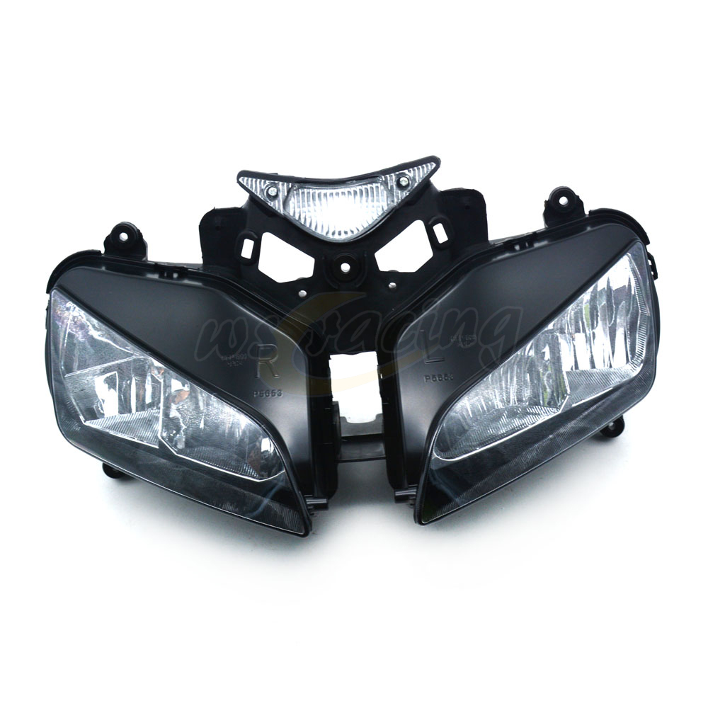 Motorcycle Headlights Headlamps Head Lights Lamps Assembly For HONDA CBR1000RR 2004-2007 2004 2005 2006 2007