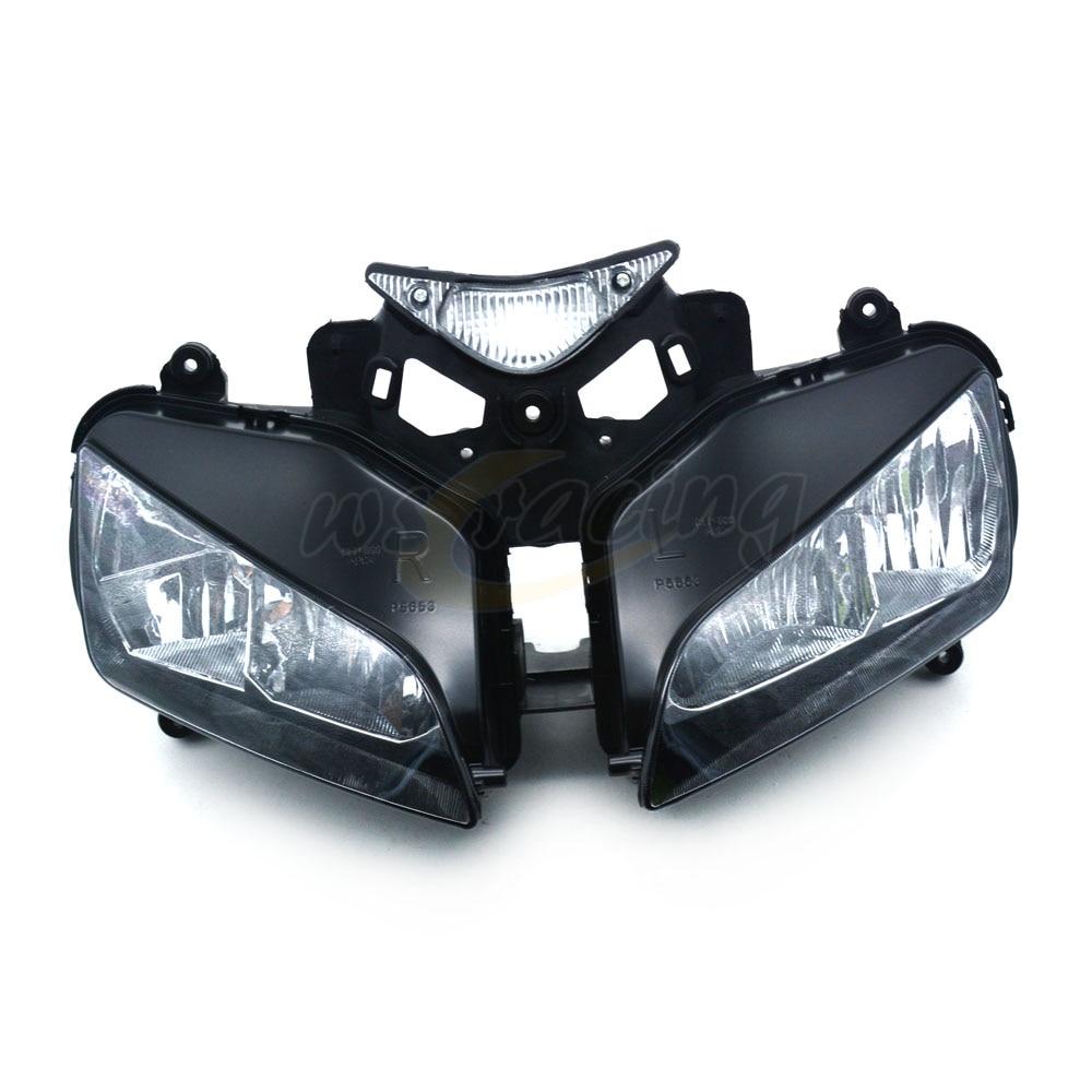 Phares de moto phares phares phares assemblage de lampes pour HONDA CBR1000RR 2004-2007 2004 2005 2006 2007
