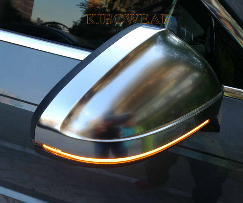 Kibowear for Audi A4 A5 B9 S4 S5 RS5 2017 2018 2019 Dynamic Blinker LED Turn Signal blink Side Mirror Lights indicator flasher