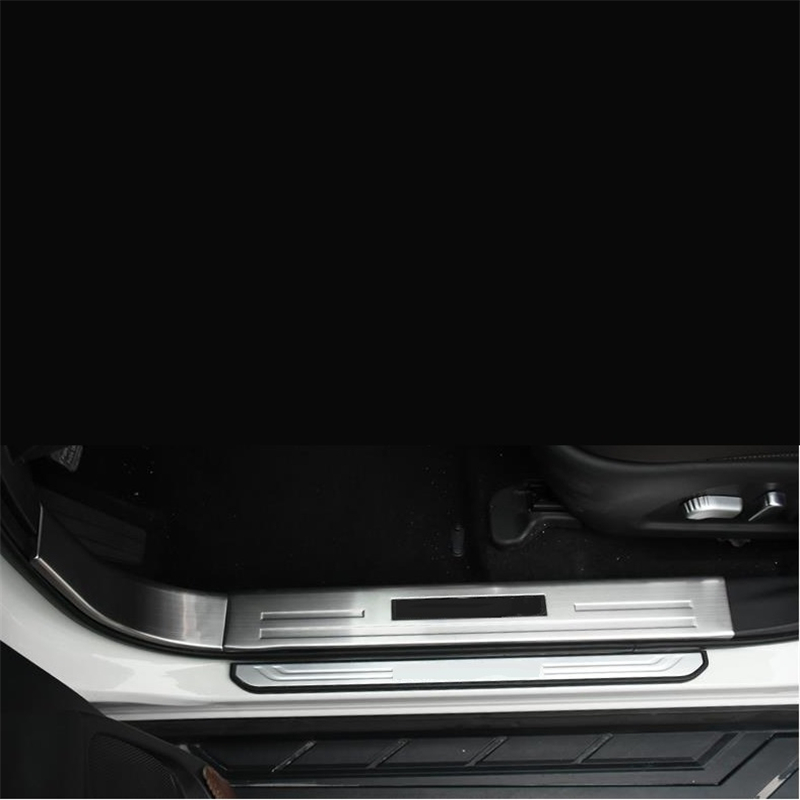 Auto Foot Pedal Air Conditioner Automobile Modified Chromium Upgraded Car Styling Covers Bright 15 16 17