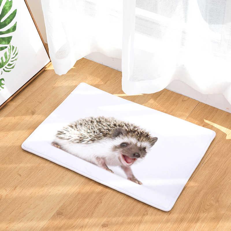 Приграничный Laiwu 3d печать ковер Ежик спальня дома гостиная ковер мультфильм печать коврики на заказ