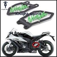 For KAWASAKI ZX10R ZX 10R NINJA 2011 2016 12 13 14 15 Motorcycle Accessories CNC Aluminum Foot Peg Heel Plates Guard Protector