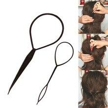 2 шт./партия Инструменты для укладки волос, для укладки волос, топик, хвост, заколки для волос, щипцы для завивки волос, аксессуары для волос