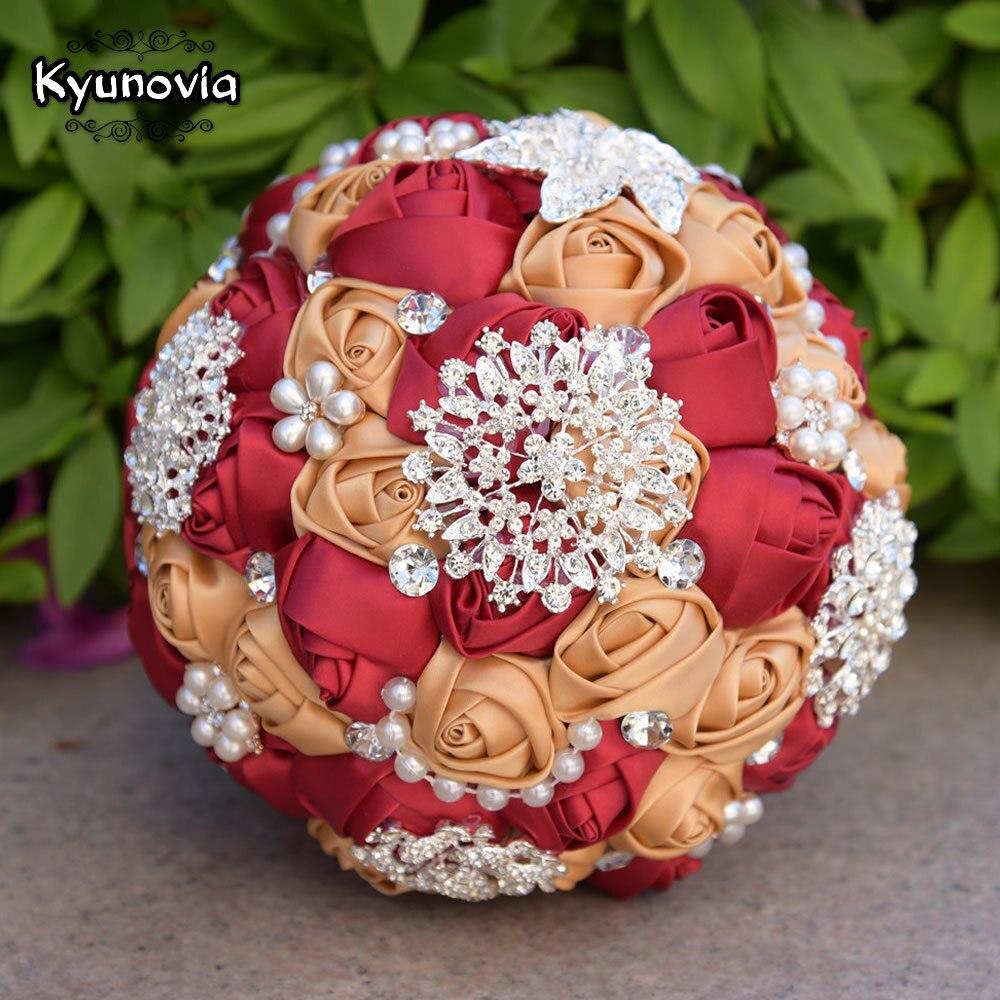 Kyunovia Cel mai bun preț Buchet de mireasă Buchet de mireasă - Accesorii de nunta - Fotografie 6