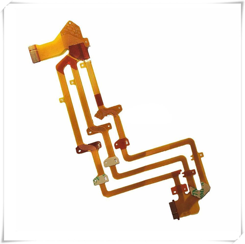 10pcs /100% NEW LCD Flex Cable For <font><b>SONY</b></font> CX110E CX115E CX150E XR150 SX83E <font><b>CX110</b></font> CX115 CX150 XR150 SX83 Video Camera Repair Part image