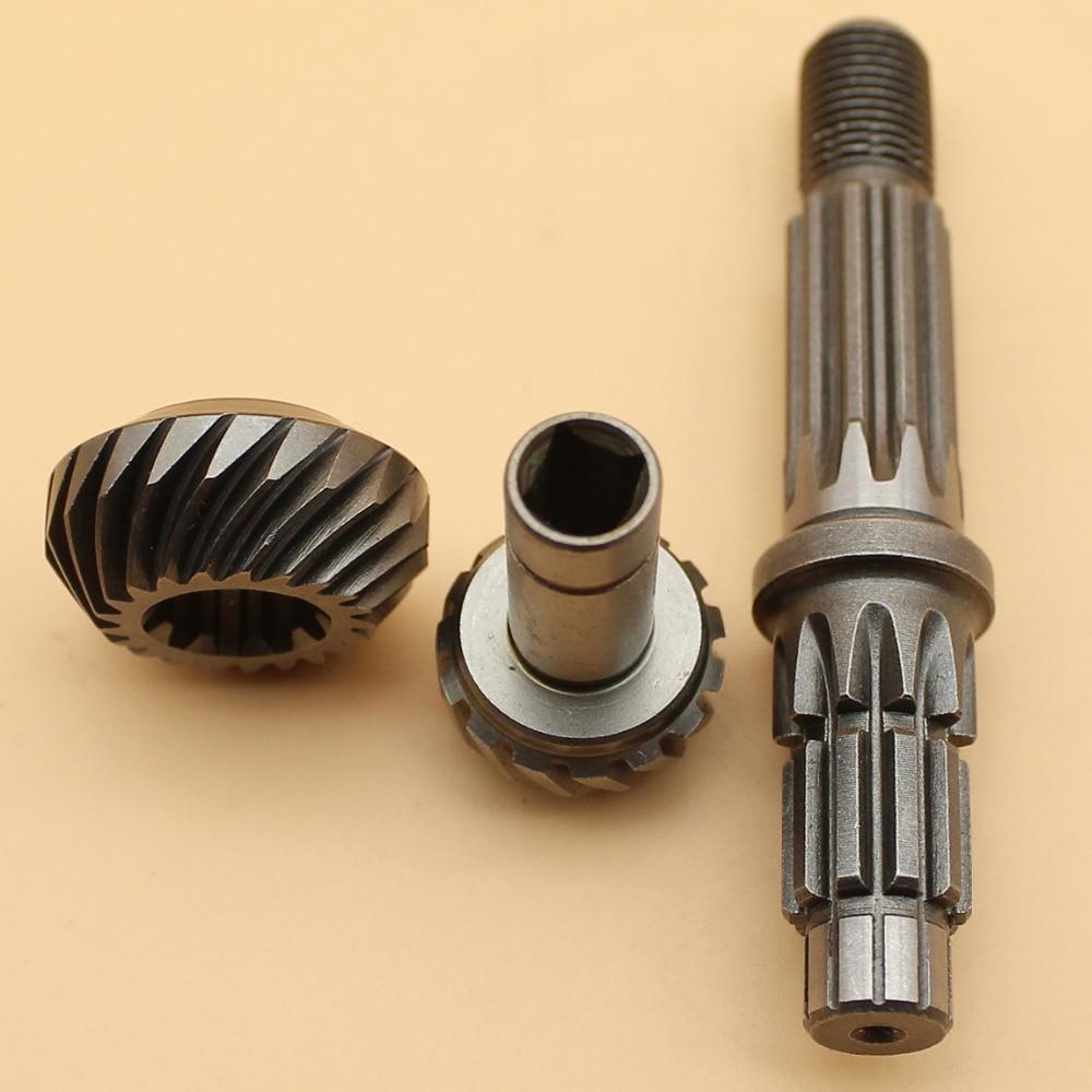 Working Head Gear Box Gearbox Rebuild Set Fit STIHL FS120 FS130 FS200 FS250 FS120R FS200R FS250R FS300 Trimmers SQUARE PORT