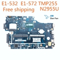 V5WE2 LA-9532P ноутбук материнская плата для Acer E1-572 E1-532 TMP255 Системы материнская плата N2955u 100% работы