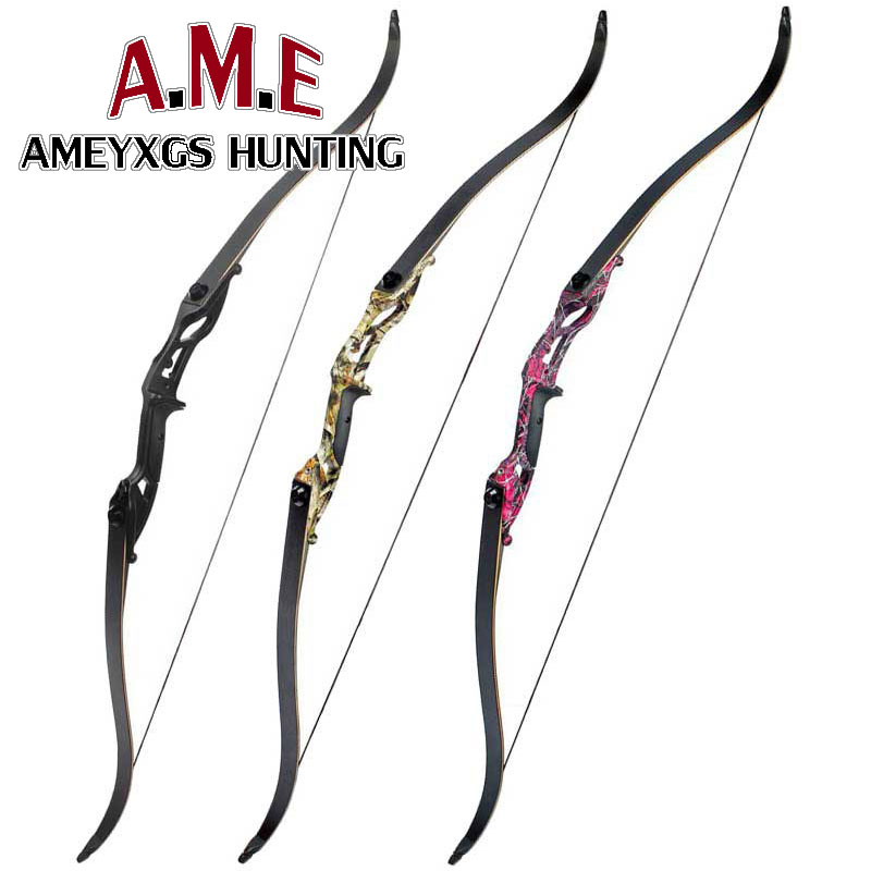 3 Colors Hunting Bow Camo Takedown Recurve Bow Kit Bow Arrow Rest Right Hand Hunter Archery Right Hand Sport Feather Gift luxury drop away arrow rests fall away right hand purple bow and arrow set dorp proof arrow rest for hunting archery cl51 0005