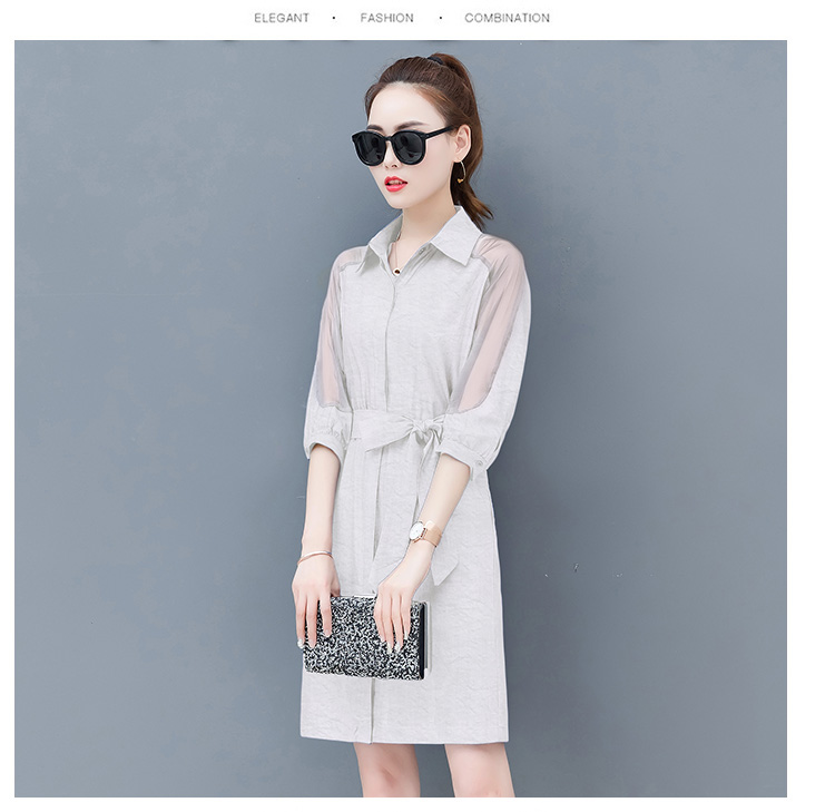 Dress female spring and autumn 2019 new fashion commuter slim strapless denim dress tide vestido Q280 18