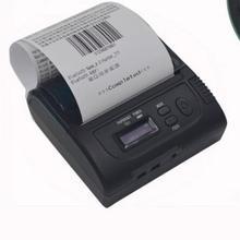 80 мм bluetooth термопринтер, ЖК USB мм 80 мм тепловой Bluetooth чековый принтер IOS/android портативный принтер