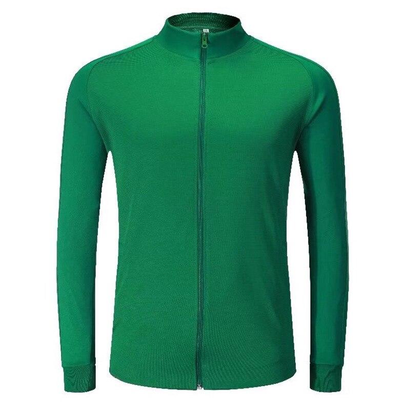 Detail Feedback Questions about Mens Full Zipper Sports Jacket Football  Training Soccer Jersey Custom Soccer Jerseys Men Pants Sports Wear  Tracksuit ... 4f8c9f233