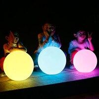 Светодиодный glow потолочный плафон Диаметр 35 см Открытый водонепроницаемый перезаряжаемый светящийся шар садовый светильник творческий по